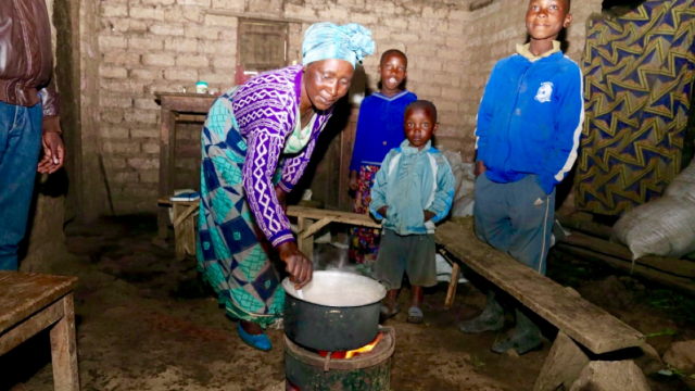 We visit Mukasine and her family in Kabatwa